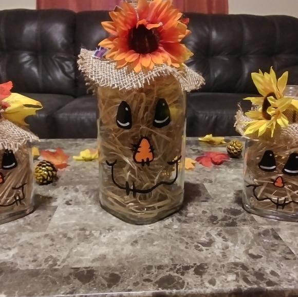 Scarecrow Family of 3